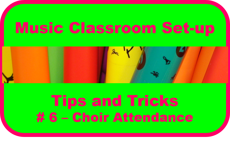 Choir Attendance Tracking- Keeping it Simple, Keeping it REAL!