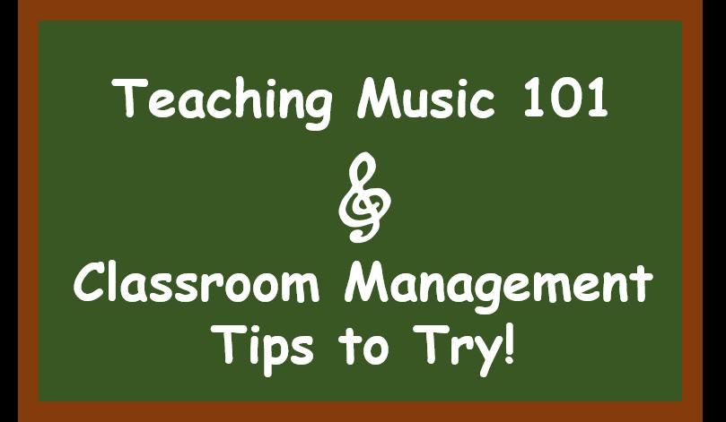 Teaching Music 101 – Classroom Management Tips for New Music Teachers