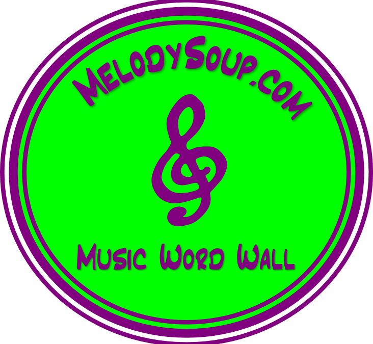 2015 Word Wall – Set 5 – Symphony Instruments