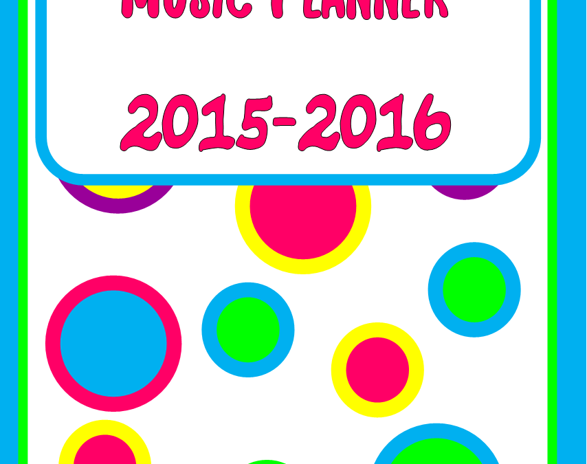 Music Planner Cover! – YAY!