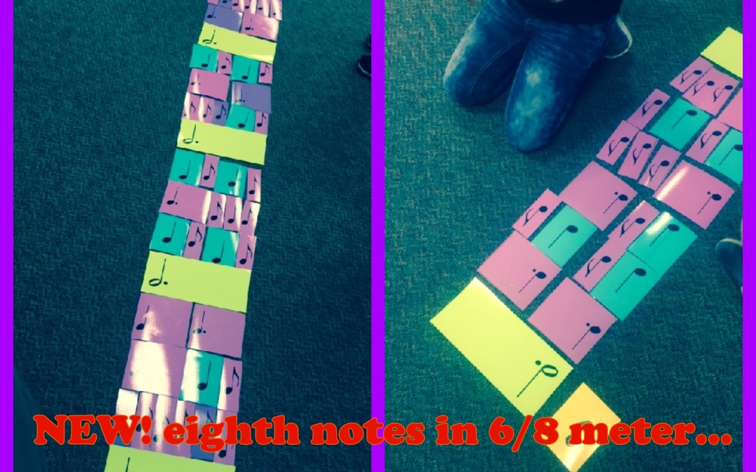 NEW! Rhythm cards for 6/8