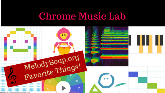 Chrome Music Lab