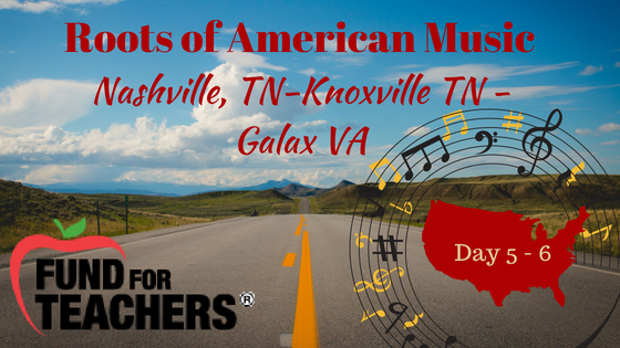 Roots of American Music – Road to Galax, VA – Day 5