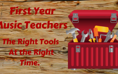 First Year Teachers – The Right Tools At the Right Time