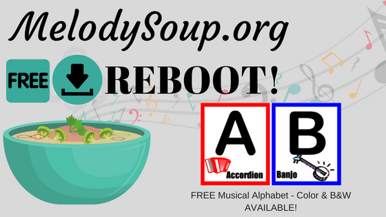 FREE Musical Alphabet
